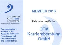 ACF Zertifikat